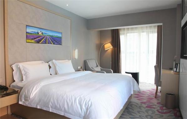 南京酒店大床房装修设计案例