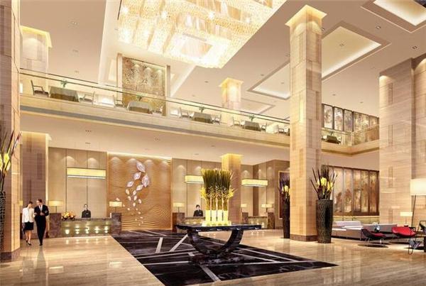 南京酒店大堂设计