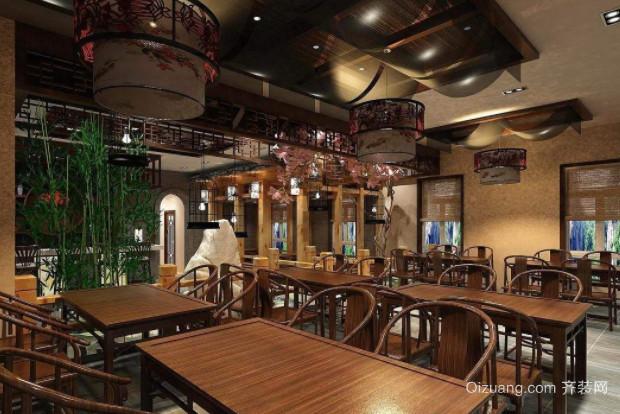 南平茶馆装修设计
