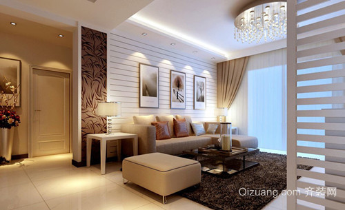 长春新房装修设计现代风格效果图