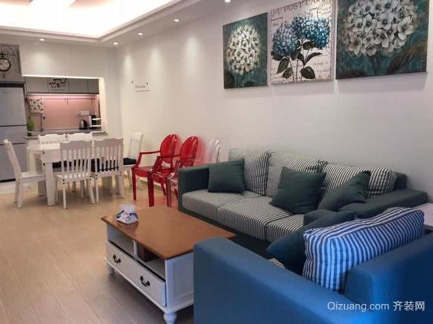 烟台新房装修-客厅沙发