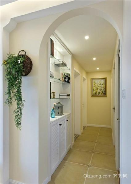 88平米小户型装修走廊效果图