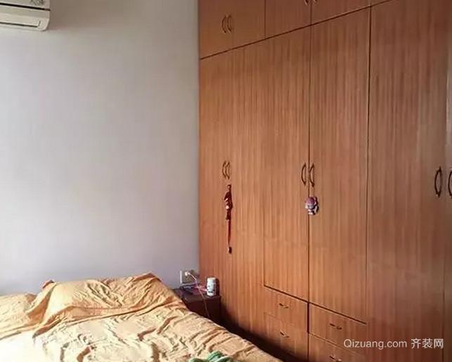 卧室改造前效果图