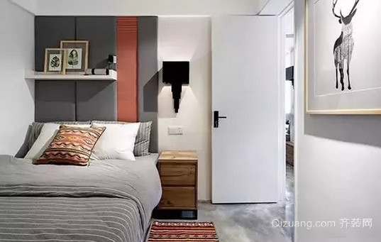 卧室改造后效果图