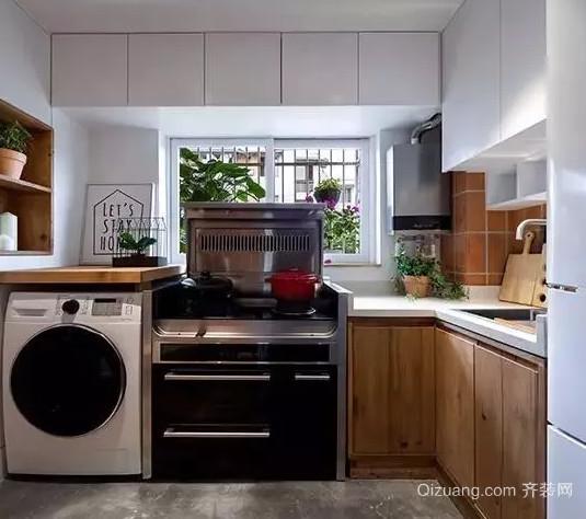 厨房改造后效果图