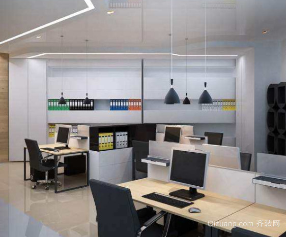 温州办公室装修效果图2