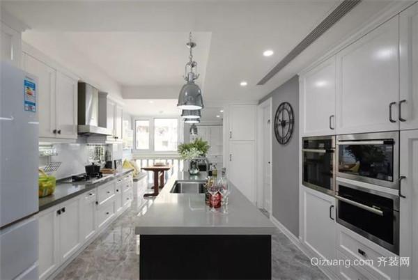 160平米简欧风格装修厨房效果图