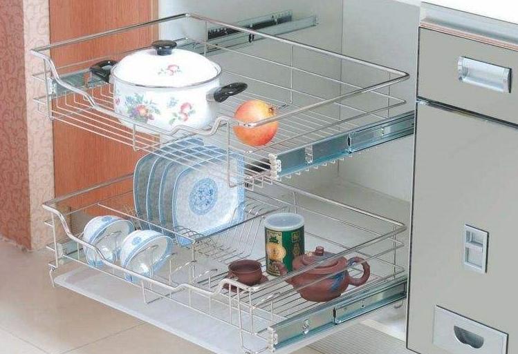 廚房櫥柜拉籃安裝