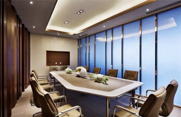 中式会议室装修效果图