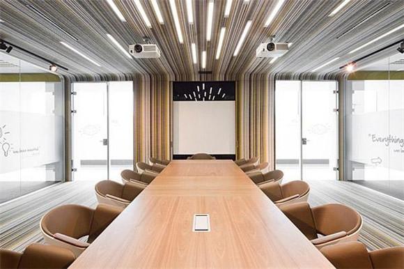 创意会议室装修效果图