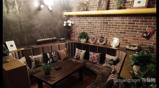 咖啡店装修简约风格设计效果图