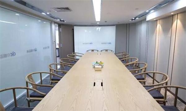 南京会议室装修实例图