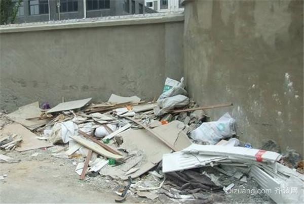瑞安装修垃圾处理方法