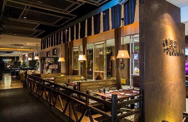 重庆中式餐馆装修效果图