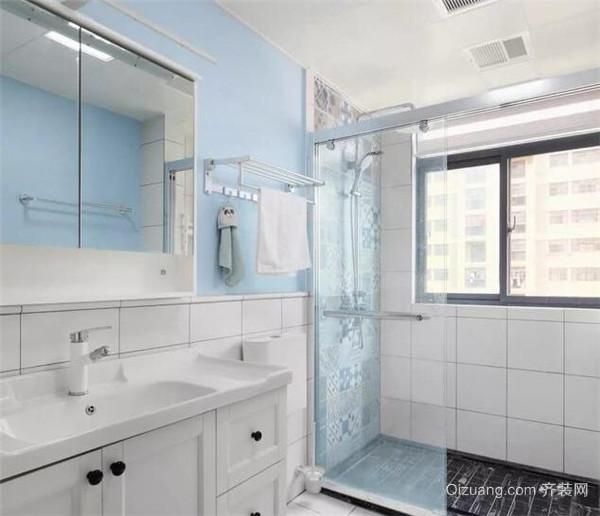 西安老房卫生间装修设计案例