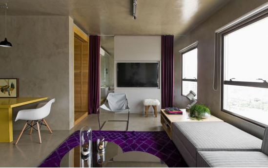 公寓式酒店装修效果图