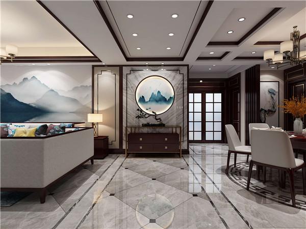 中式风格婚房装修效果图