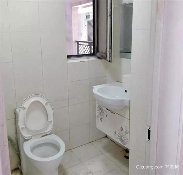 西安老房子卫生间翻新装修效果图