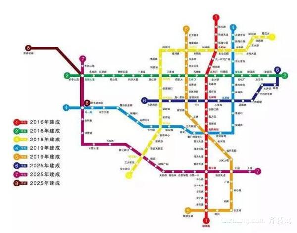 芜湖地铁3号线站点