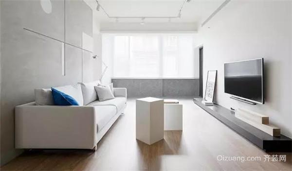 75平米二手房5万元装修客厅效果图