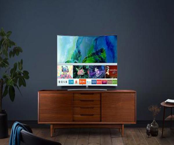 三星电视投屏设置方法
