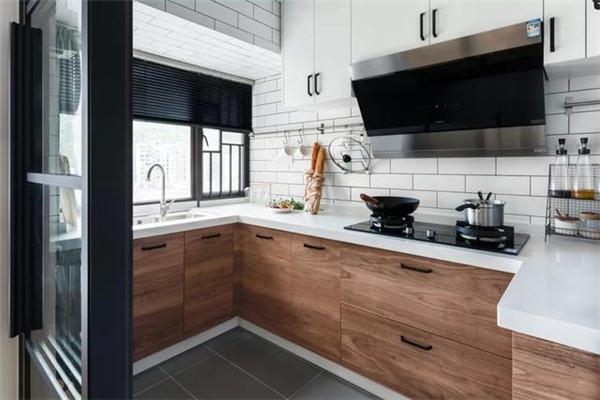 90平米婚房简约装修厨房效果图