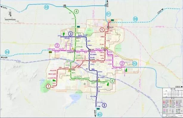 潍坊轻轨一号线路线图