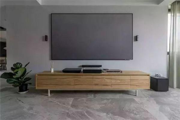 全包60万装修190平米电视墙效果图