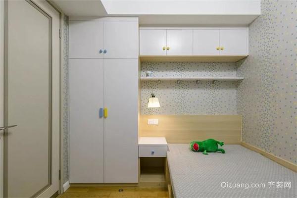 135平米花15万精装儿童房效果图
