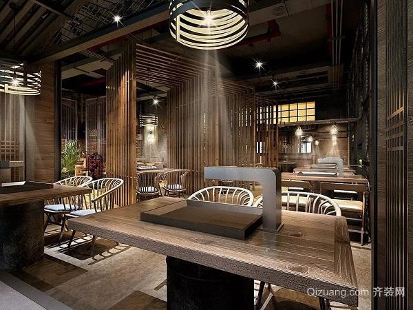 杭州烧烤店装修细节