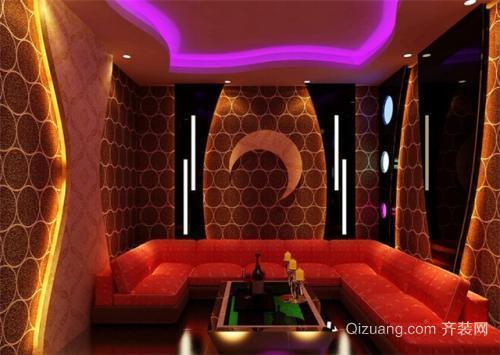 广州ktv装修设计要点之走廊设计
