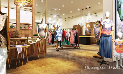 服装店装修注意细节之综合设计