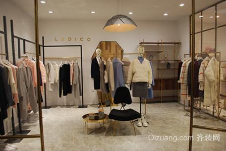 服装店装修个性型设计效果图