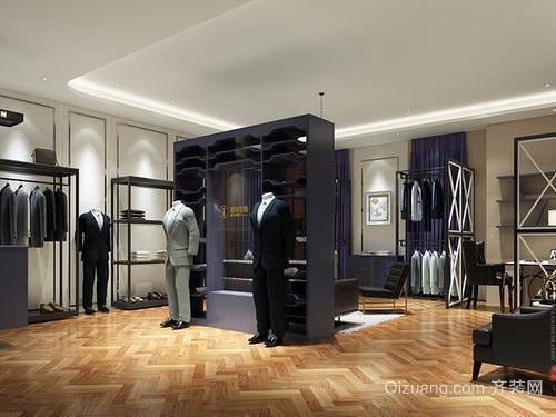 服装店装修创意型设计效果图