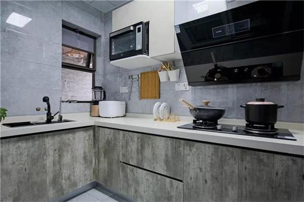 99平米装修10万厨房效果图