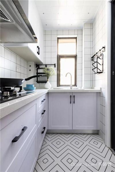 上虞80平米装修厨房效果图