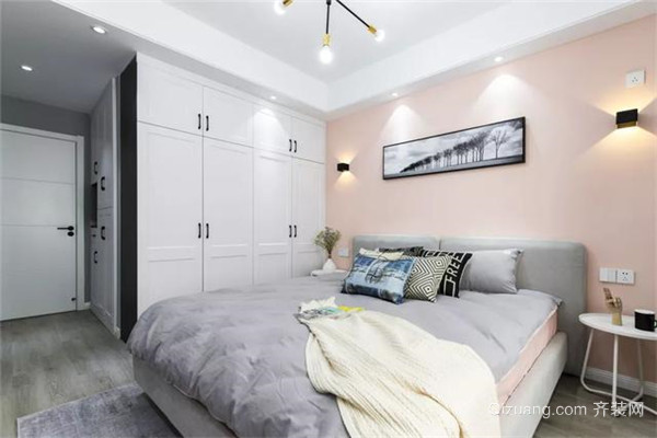 上虞80平米装修卧室效果图
