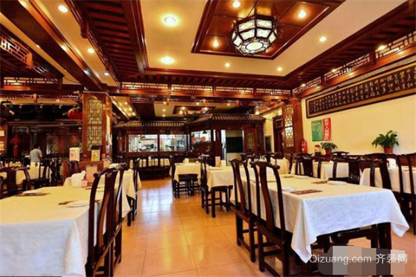 中式小饭店装修风格