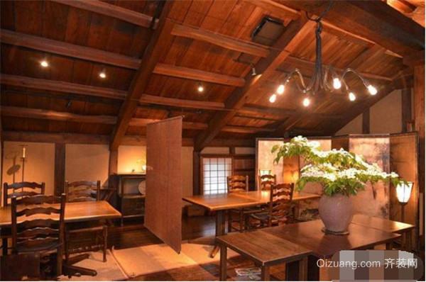 日式饭店装修风格