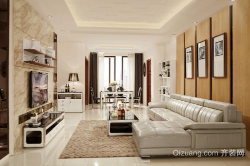 公寓装修现代风格设计效果图