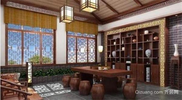 杭州茶叶店装修