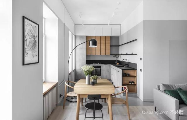 现代简约风厨房装修案例
