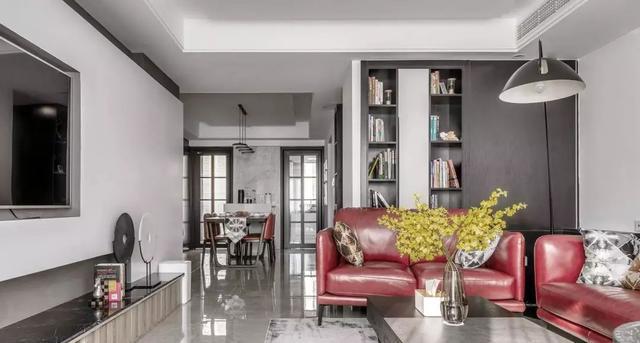 现代风格客厅装修案例