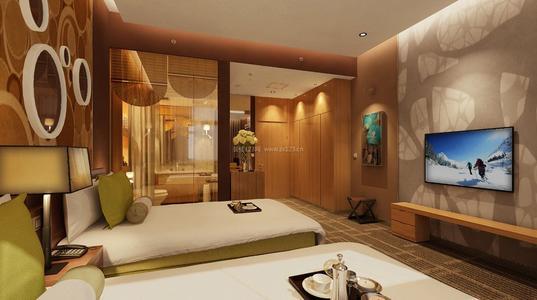 宾馆装修设计中式风格效果图