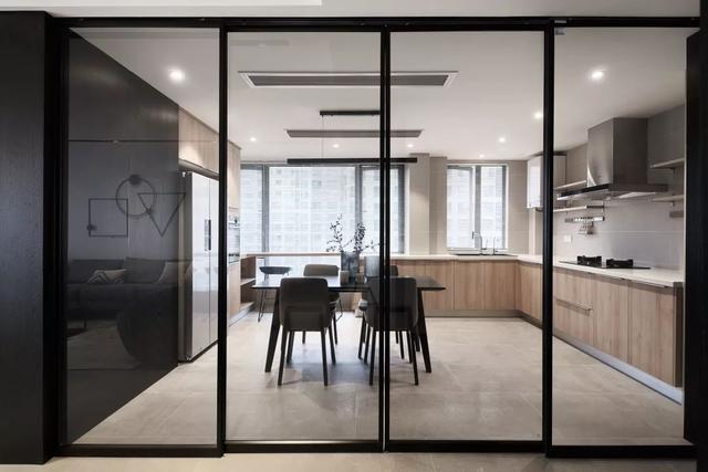 现代简约风餐厅&厨房装修设计案例