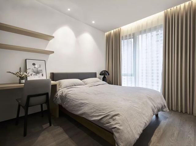 现代简约风次卧装修设计案例