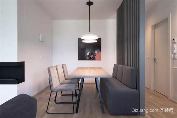 98平小三室装修餐厅效果图