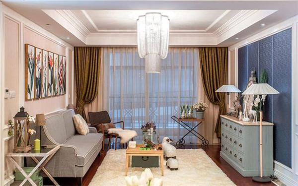 南京金亿嘉装饰美式风格设计案例