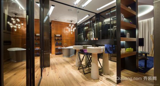 店铺装修设计欧式简约风格效果图