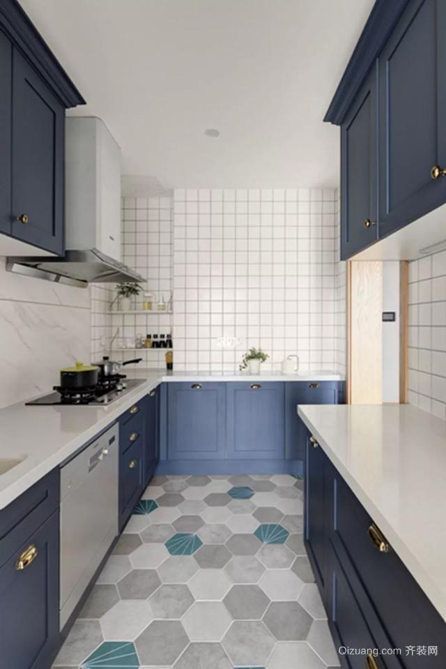 现代风厨房装修案例